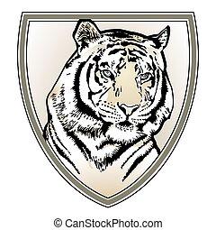 tiger, címer
