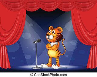 tiger, fokozat