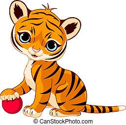 tigris cub, csinos