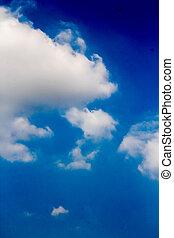 tiszta égbolt, háttér