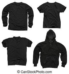 tiszta, black felöltöztet