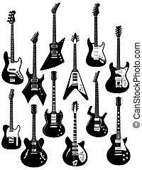 tizenkettő, elektromos gitár