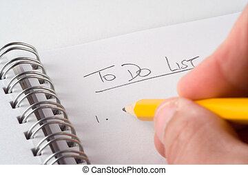 to-do lista