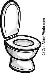 (toilet, bowl), öltözék