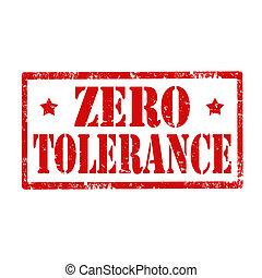 tolerance-stamp, zéró