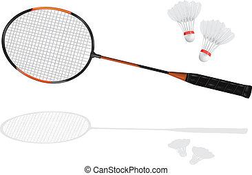tollaslabda, badminton ütő