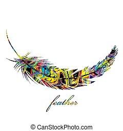 tollazat, színes, háttér, elszigetelt, fehér