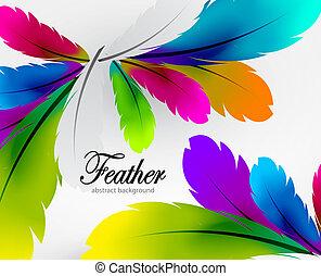 tollazat, vektor, színes, háttér