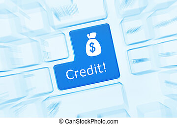 toned)., -, gyertya, hatás, hitel, billentyűzet, fogalmi, (blue, fehér