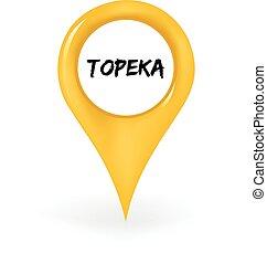 topeka, elhelyezés