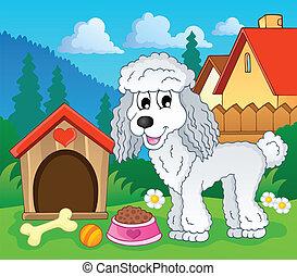 topic, 1, kép, kutya
