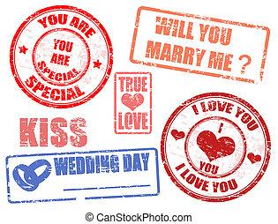 topog, esküvő