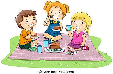 torta, étkezési