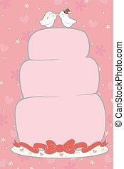 torta, esküvő