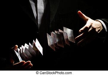 trükk, playing-card