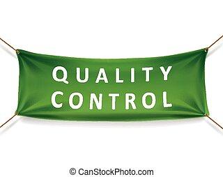 transzparens, ellenőrzés, minőség