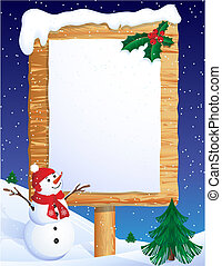 transzparens, karácsony