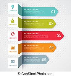 transzparens, minimalistic, modern, infographics