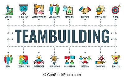 transzparens, nyomdászat, teambuilding, csapatmunka