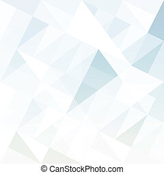 triangles., elvont, háttér, vector.
