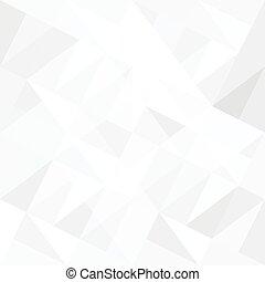 triangles., elvont, white háttér, vector.