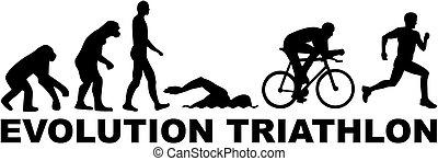 triathlon, fejlődés
