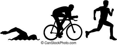 triathlon, körvonal