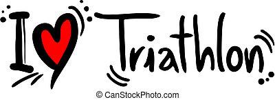 triathlon, szeret