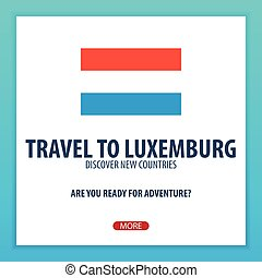 trip., luxemburg., utazás, felfedez, countries., felderít, kaland, új