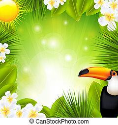 tropikus, alapismeretek, zöld háttér