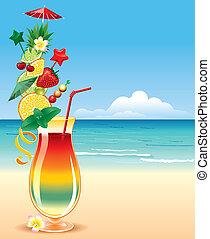 tropikus, cocktai