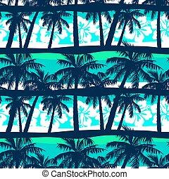 tropikus, frangipani, seamless, horgonykapák, motívum
