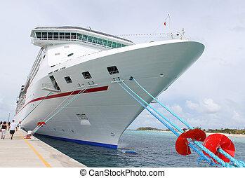 tropikus, hajó, rév