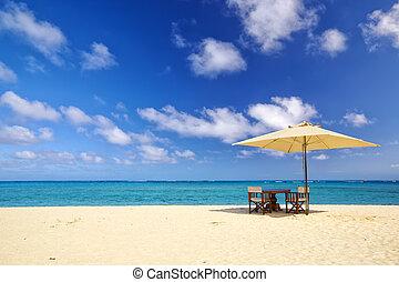 tropikus, homok tengerpart