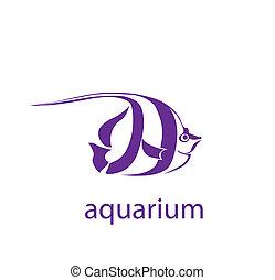 tropikus, jelkép, fish