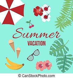 tropikus, nyár, alapismeretek, szünidő, háttér