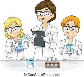 tudomány kísérlet