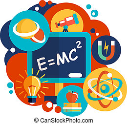 tudomány, tervezés, fizika, lakás