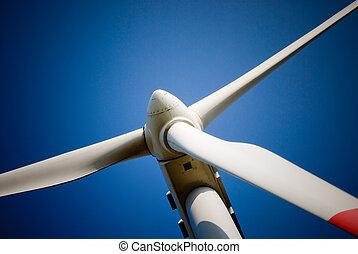 turbina, closeup, felteker
