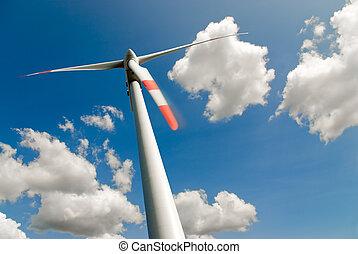 turbina, elhomályosul, felteker
