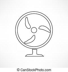 turbina, felteker