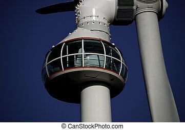 turbina, felteker, csillagvizsgáló, elzáródik
