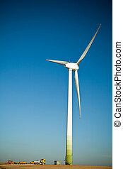 turbina, szerkesztés hely, felteker