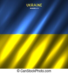 ukrajna, nemzeti lobogó, háttér