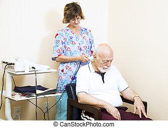 ultrahang, chiropractic terápia
