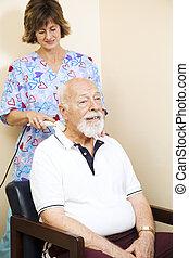 ultrahang, megkönnyebbülés, terápia