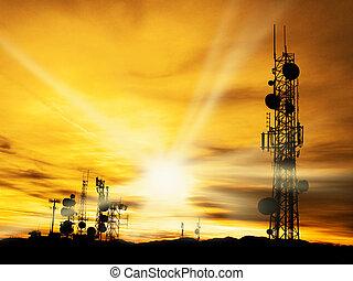 uralkodik, rádió, napfény
