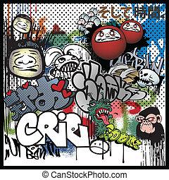urban graffiti, alapismeretek, művészet