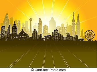 urban táj