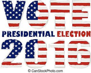 usa, ábra, választás, szavaz, 2016, elnöki